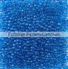 10 g TOHO Seed Beads 11/0 TR-11-1074 - Inside-Color Crystal/Deep Blue Lined (E)