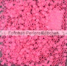 10 g TOHO Seed Beads 11/0 TR-11-0971 - Inside-Color Frosted Crystal/Neon Pink Lined (E)