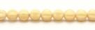 25 Stück Perlen Melone - Ø 6mm Opaque Beige