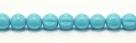 25 Stück Perlen Melone - Ø 6mm Opaque Turquoise