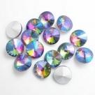 1 Glas-Rivoli 16 mm - multi colored AB