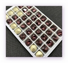 1 Glas-Square Ø 12x12 mm - amethyst