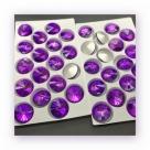 1 Glas-Rivoli 18 mm - lt purple velvet
