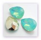 1 Resin Tear Stone, 18x25 mm - Pacific Opal