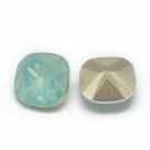 1 Resin Cushion Stone 10x10mm - Pacific Opal