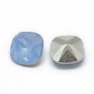 1 Resin Cushion Stone 10x10mm - Air Blue Opal