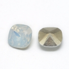 1 Resin Cushion Stone 10x10mm - White Opal