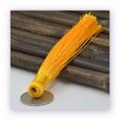 1 Stück Textil-Quaste (ca. 12,0cm) - zum Einkleben - sunshine