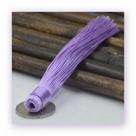 1 Stück Textil-Quaste (ca. 12,0cm) - zum Einkleben - lavender