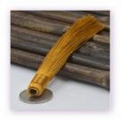 1 Stück Textil-Quaste (ca. 12,0cm) - zum Einkleben - gold