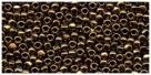 5g Toho 3-Cut 12/0 bronze metallic (CR221)