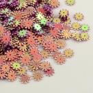 1 Gramm Flower-Pailletten 8mm  - camelli