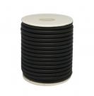 0,5 m Kautschukschlauch Stärke 5 mm - black