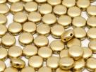 #00.02 - 25 Stück DiscDuo Beads 6x4 mm - Aztec Gold