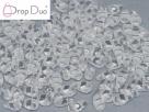 #01.00.00 - 25 Stück DropDuo Beads 3x6 mm - Crystal