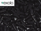 #03.00 - 25 Stück Vexolo Beads 5x8 mm - Jet