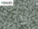 #01.03 - 25 Stück Vexolo Beads 5x8 mm - Alabaster Mint Luster
