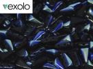 #03.02 - 25 Stück Vexolo Beads 5x8 mm - Jet AB