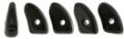 #02.00 - 25 Stück Prong Beads 3x6 mm - Jet