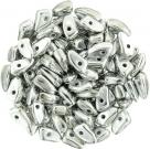 #01.01 - 25 Stück Prong Beads 3x6 mm - Crystal Labrador Full