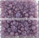 #02.01 - 50 Stück Teacup Beads 2x4 mm - Milky Amethyst