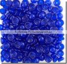 #05.01 - 50 Stück Teacup Beads 2x4 mm - Cobalt