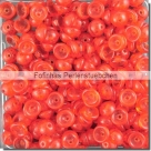 #09.02 - 50 Stück Teacup Beads 2x4 mm - Siam Ruby