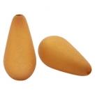 #02.03 - 1 Stück Polaris-Elements Perlen Tropfen - Ø 20x10 mm - matt camel brown