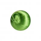 1 Seidenball Ø ca. 28 mm - peridot