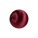 1 Seidenball Ø ca. 28 mm - bordeaux