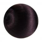 1 Seidenball Ø ca. 48 mm - aubergine