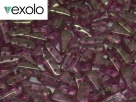 #00.01 - 25 Stück Vexolo Beads 5x8 mm - Crystal Red Luster