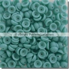 #10.00 - 50 Stück Teacup Beads 2x4 mm - Opaque Turquoise