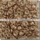 #00.03 - 50 Stück Teacup Beads 2x4 mm - Aztec Gold