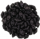 #12 5g Diamond-Beads 4x6,5 mm - Metallic Suede - dk Plum