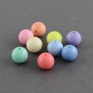 5 Stück Acryl Kugeln ca. 18 mm - Mix