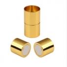 1 Magnet-Verschluss Ø 20x06mm zum Kleben - goldfarben