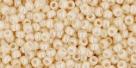 10 g TOHO Seed Beads 11/0 TR-11-0123 - Opak-Lustered Lt Beige (C)