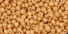 10 g TOHO Seed Beads 11/0 TR-11-0123 D - Opak-Lustered Dk Beige (C)