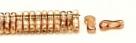 #00.00 - 50 Stück Link Beads 3x10 mm - Crystal Celsian