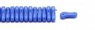 #00.00 - 50 Stück Link Beads 3x10 mm - Sapphire Opaque