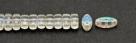 #01.00.01 - 25 Stück CALI Beads 3x8 mm - Crystal AB