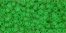 10 g TOHO Seed Beads 11/0 TR-11-0007 F Peridot Frosted
