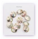 1 Glas-Rivoli 12 mm - Patina - crystal/AB