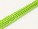 200 facetierte Rondelle 1,5*1mm Apple Green