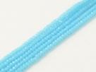 200 facetierte Rondelle 1,5*1mm Blue Turquoise