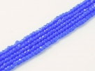 200 facetierte Rondelle 1,5*1mm Baltic Blue