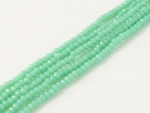 200 facetierte Rondelle 1,5*1mm Pacific Green
