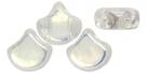 #00.00 - 25 Stück Matubo Ginko Leaf Bead 7.5x7.5mm - Crystal AB