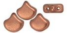 #01.06 - 25 Stück Matubo Ginko Leaf Bead 7.5x7.5mm - Bronze Copper